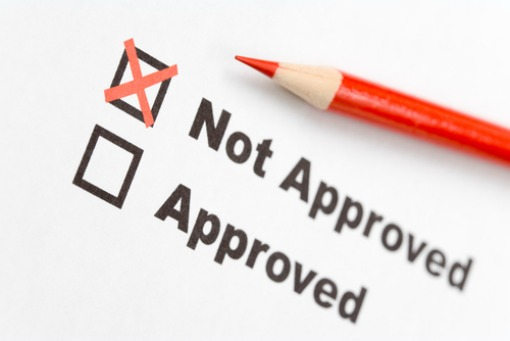 your small business loan was not approved